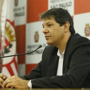 Prefeito Fernando Haddad