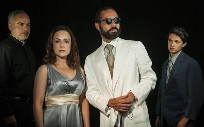 Silvio Guindane e grande elenco de Perfume de Mulher