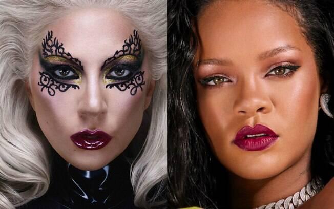 Lady Gaga e Rihanna criam impérios na indústria da beleza