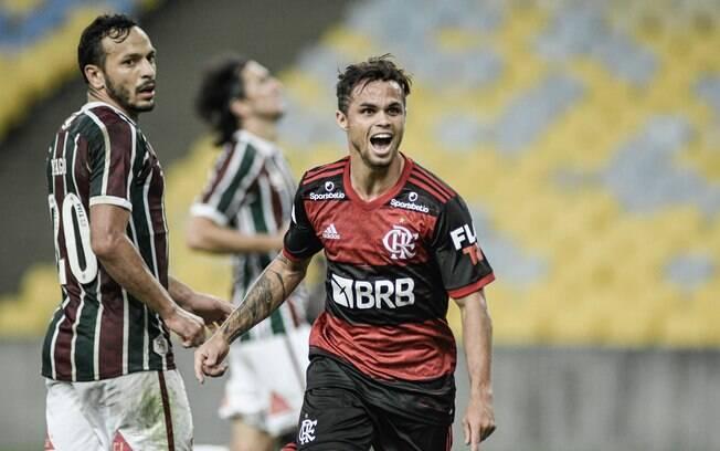 Michael marcou o gol da vitória do Flamengo