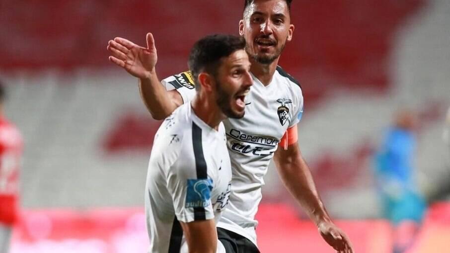Lucas Possignolo marcou o gol da vitória do Portimonense diante da equipe de Jorge Jesus