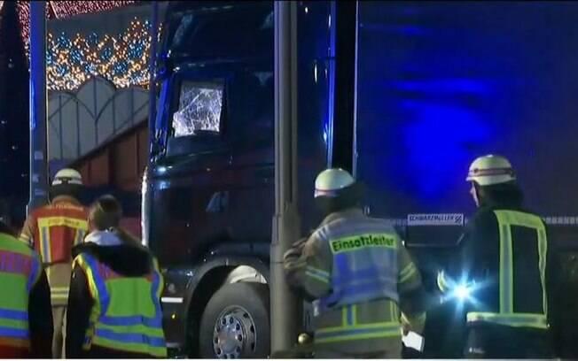 O caminhão foi usado por terrorista do Estado Islâmico em atentado a Berlim que deixou 12 pessoas mortas e 48 feridas