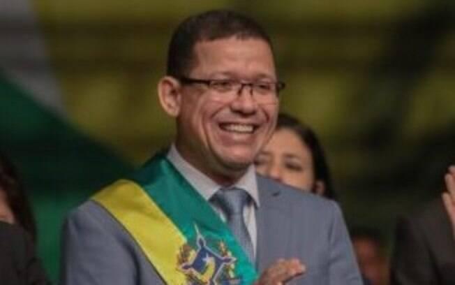 Coronel Marcos Rocha, governador de Rondônia