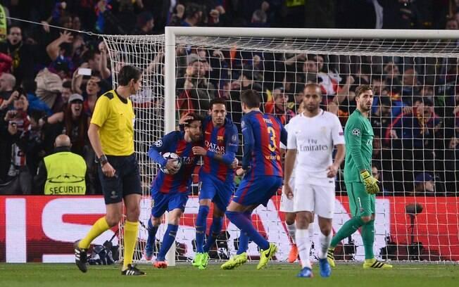 Barcelona conseguiu uma das mais impressionantes viradas na história do esporte