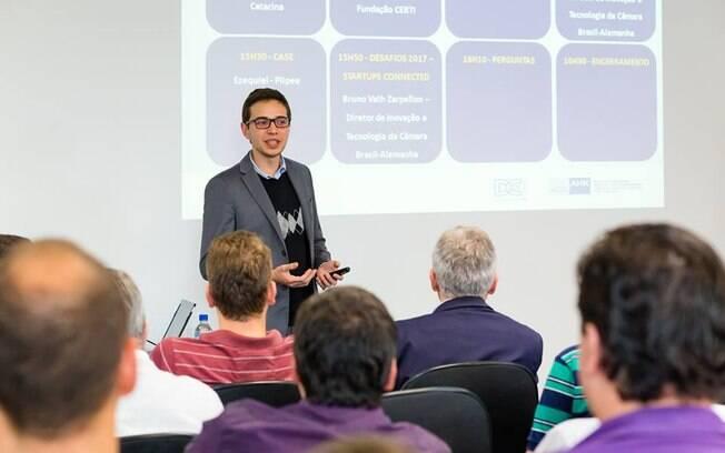 Bruno Vath Zarpellon é diretor do departamento de inovação e tecnologia da Câmara Brasil-Alemanha