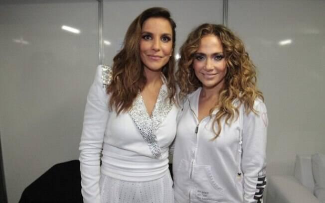 Ivete Sangalo e Jennifer Lopez