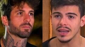 Claudinho e Thomaz brigam fora de reality