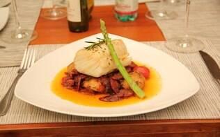 Lombo de bacalhau à moda do chef