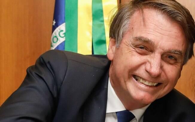 Bolsonaro fez uma transmissão ao vivo nas redes sociais