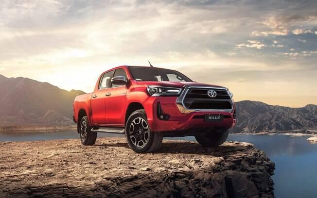 Toyota Hilux foi o modelo mais vendido da América Latina, com destaque para as vendas na Argentina, Peru e América Central