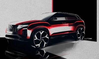 Hyundai revela esboços da nova reestilização do SUV Creta