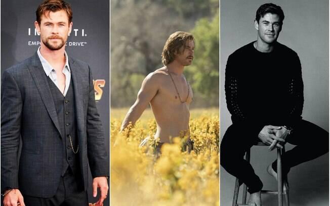 Homens mais bonitos 2018! Chris Hemsworth chama atenção com seu corpo escultural e talento