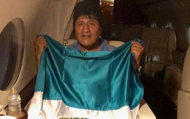 Ex-presidente boliviano já viajou para o México