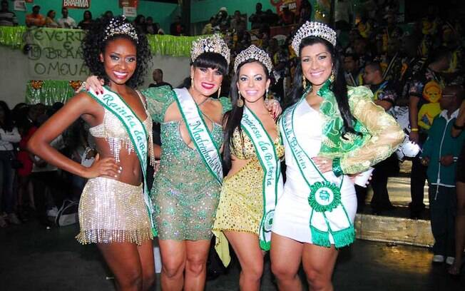 Joyce, Solange Gomes, Fernanda Passos e Mulher Moranguinho