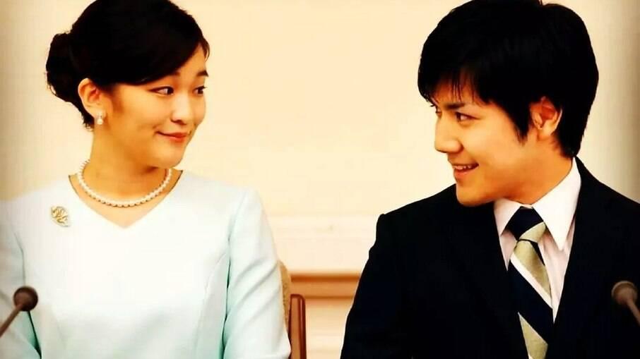Princesa Mako e Kei Komuro são noivos desde 2017