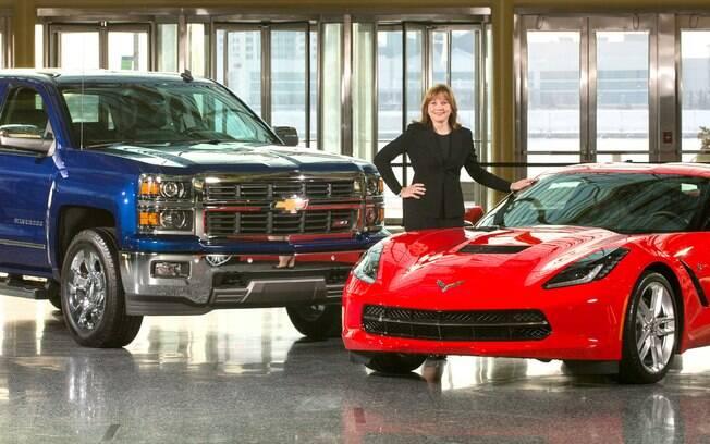 Entre as mulheres mais importantes do  setor automotivo, Mary Barra comanda a  General Motors desde 2014