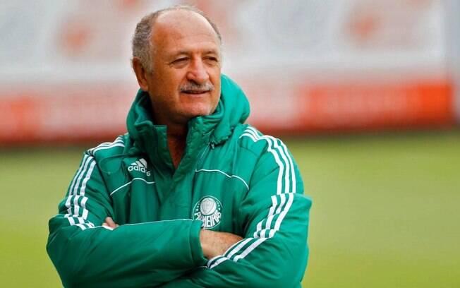 Até o Palmeiras do técnico Felipão não está apresentando um bom futebol