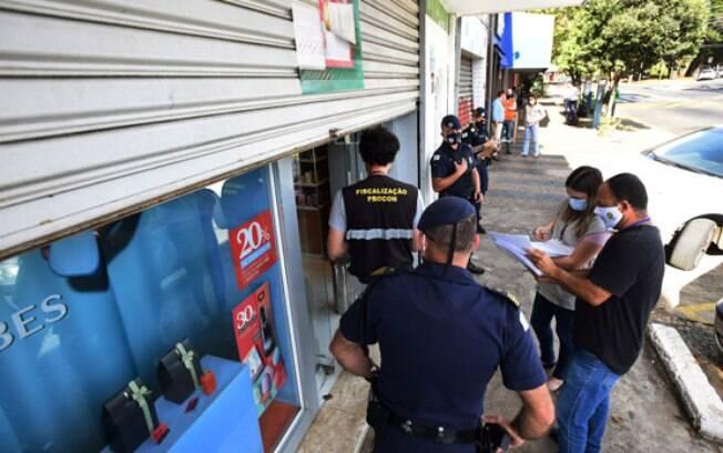 Vigilância Sanitária fechou estabelecimentos em Barão Geraldo