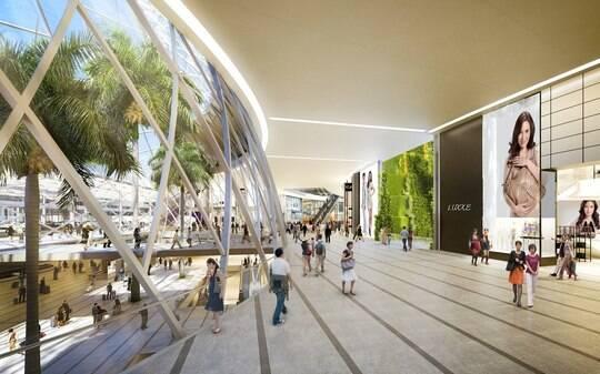 'Melhor' aeroporto do mundo terá parque e cachoeira em Cingapura - Home - iG
