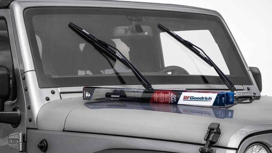 Limpador de para-brisa feito para ajudar a enfrentar trilhas off-road funcionando com mais eficácia, diz a fabricante