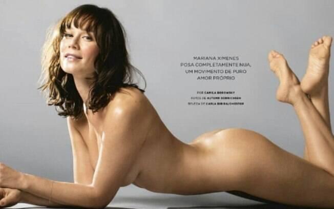 Mariana Ximenes sensualiza em novas fotos divulgadas pela revista WH Brasil