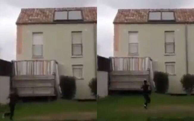 Garoto se assustou com terremoto na França