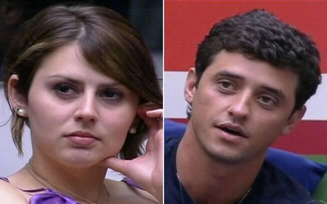 Mayara e Fael são indicados pela primeira vez
