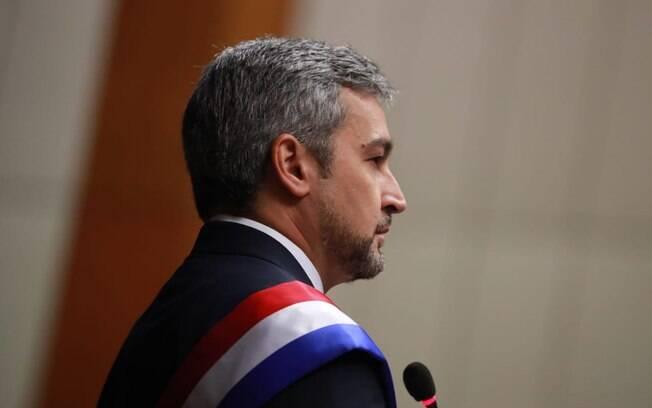Presidente paraguaio Mario Abdo Benítez esteve ameaçado de impeachment por acordo em Itaipu