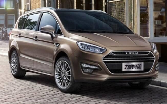 A minivan M7 será mostrada junto dos SUVs LIfan X70 e My Way para medir a aceitação do público do Salão do Automóvel
