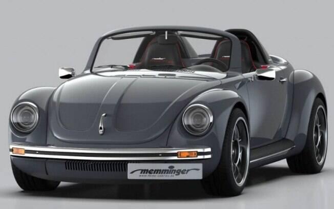 À primeira vista, é nítido que esse Fusca não é um Volkswagen em sua forma original. Tudo é pensado para performance