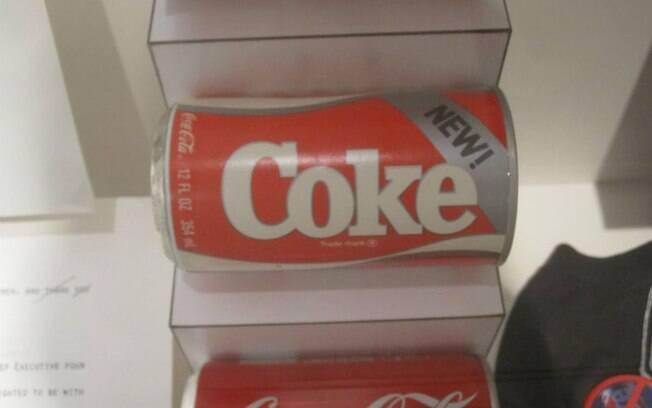 Com a Nova Coca-Cola, empresa tentou se aproximar da Pepsi, mas se tornou um fracasso após chegar às prateleiras