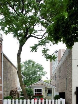 Raridade hoje, em 1871 milhares de outras casas iguaizinhas foram construídas