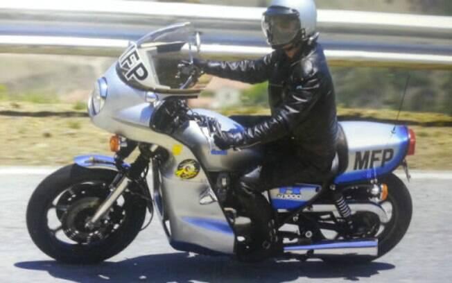 A Kawasaki Z1000 1977 de Goose, parceiro de Mel Gibson, o Mad Max