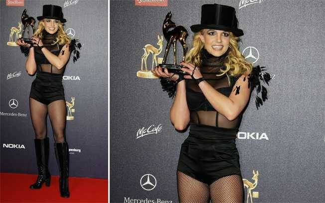 Britney Spears no Bambi Award 2008