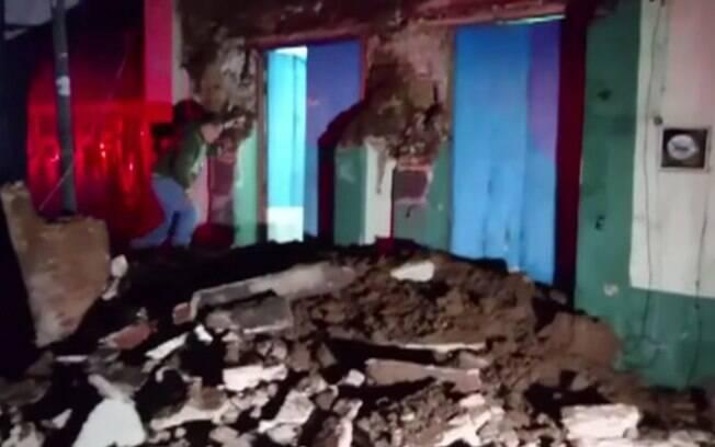 Terremoto de 8,2 graus na Escala Richter atingiu o sul do México e deixou grande número de feridos