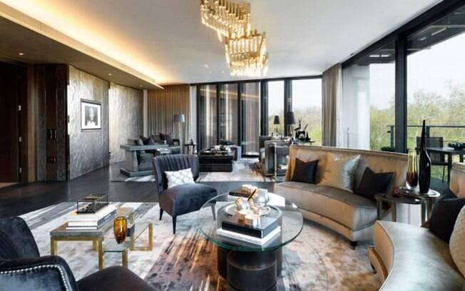 Luxury Ideas For Lavish Living Room Style: Casa Mais Cara Do Mundo Tem 27 Andares E Vale US$ 1 Bilhão