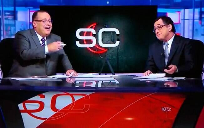 Paulo Soares e Antero Greco