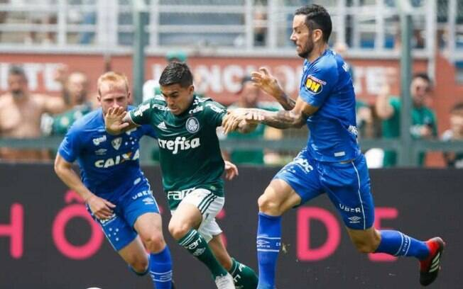 Dudu deu duas assistências na vitória do Palmeiras em cima do Cruzeiro