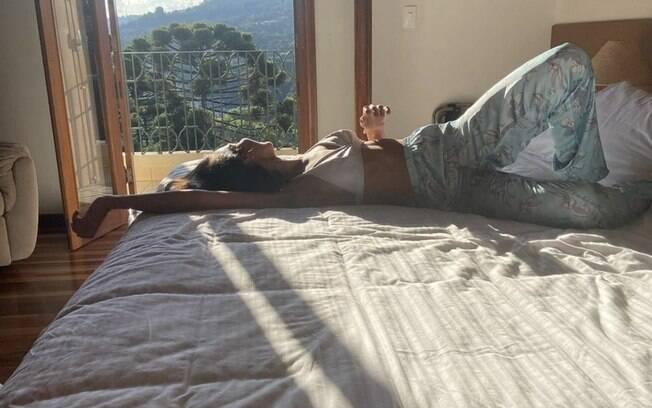Rayssa Bratillieri se hospeda na Pousada Santha Serra
