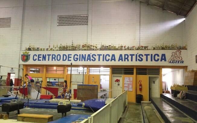 SERC abriga mais de 300 praticantes de  ginástica