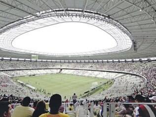A cor verde-claro dos 63.903 mil assentos foi desenvolvida especificamente para o Castelão, com a intenção de lembrar as cores da bandeira do estado do Ceará