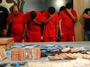 Além do líder do bando, seus dois parceiros e o caseiro do sítio também acabaram presos