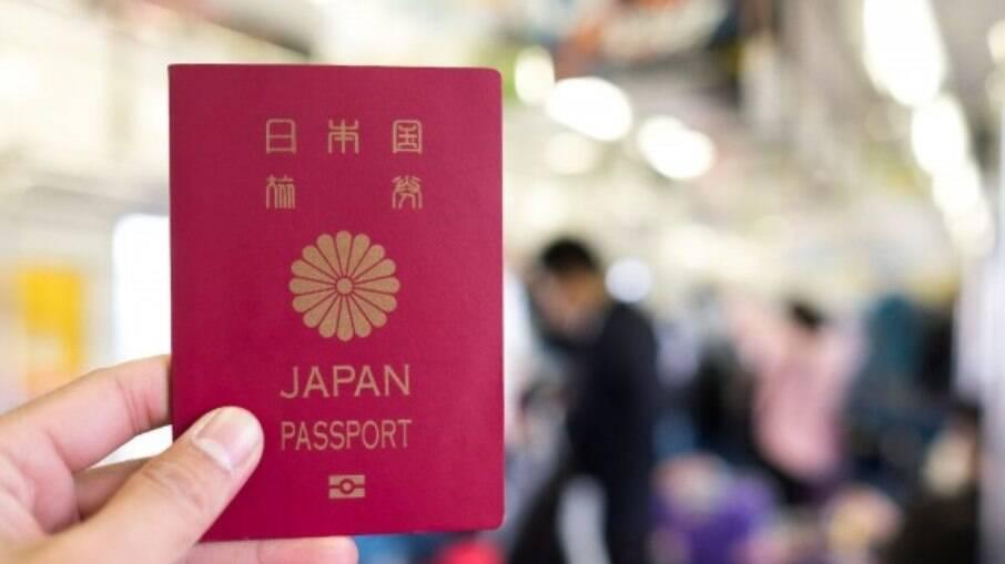 Desde 2018, o Japão lidera a lista dos passaportes mais poderoso do mundo, numa lista de 110