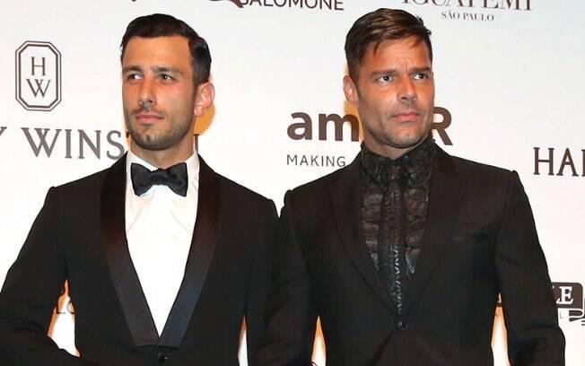 Ricky Martin e seu atual marido