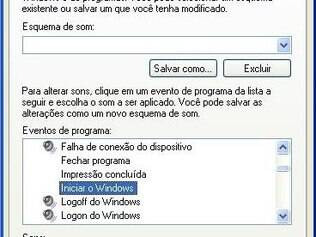 Sons do Windows podem ser desabilitados