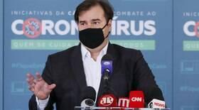Rodrigo Maia dispara contra líder do próprio partido: