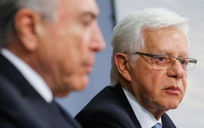 Atual ministro de Minas e Energia, Moreira Franco é investigado em inquéritos no Supremo Tribunal Federal (STF)