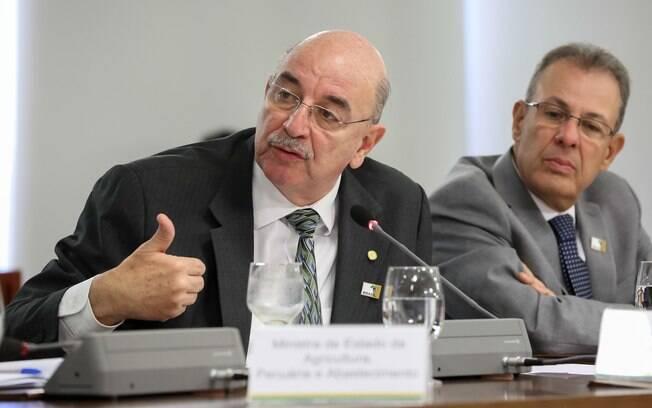 Ministro Osmar Terra falou sobre a Lei Rouanet na Marcha dos Prefeitos, realizada em Brasília