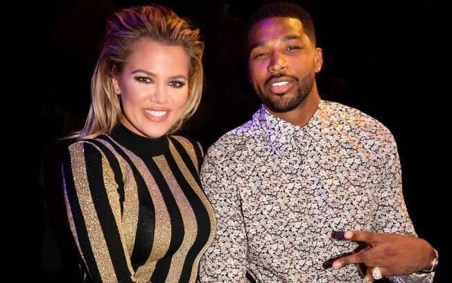 Khloe Kardashian é namorada de Tristan Thompson, jogador da NBA