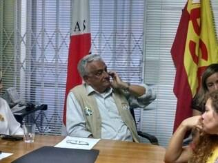 Candidato ao governo de minas deu coletiva na sede do PSB